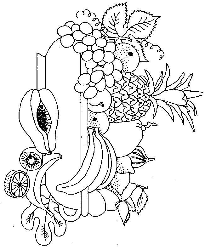 Картинки фрукты для выжигания по дереву одна